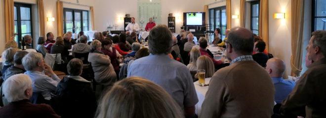 Volles Haus beim Regelnachmittag am Sonntag, den 27.1.2019 in Roggendorf